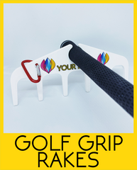 Golf Grip Rakes