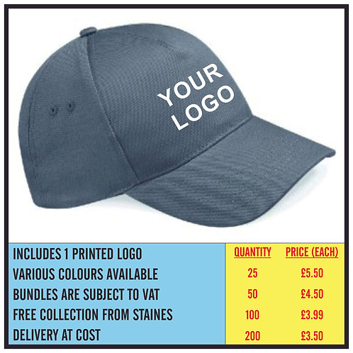 BASEBALL CAP BUNDLE - PRINTED