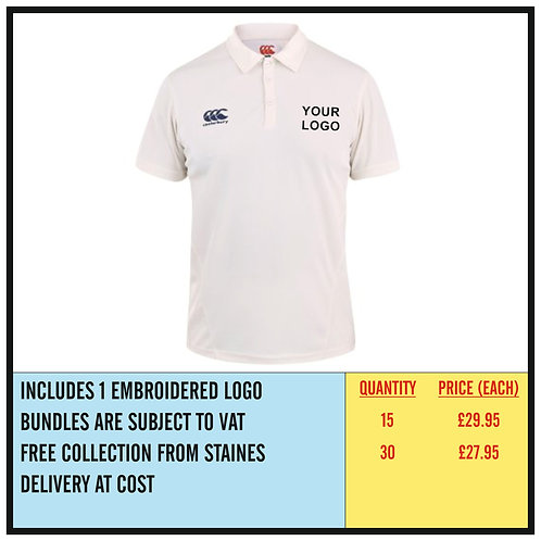 CRICKET SHIRT BUNDLE - EMBROIDERED