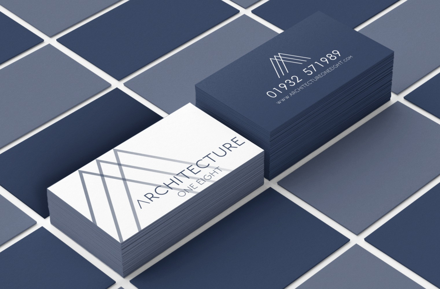 mockup-of-two-business-card-piles-lying-