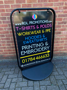RGL PROMOTIONS - SWING SIGN