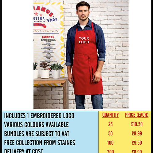 ADULTS APRON BUNDLE - EMBROIDERED