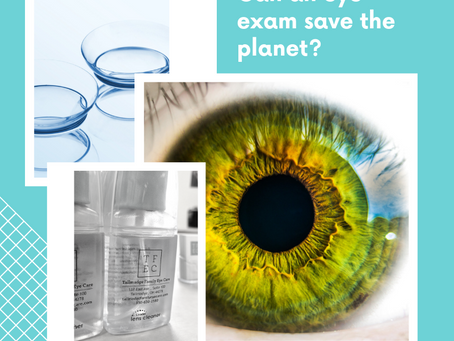 Can an eye exam save the planet?