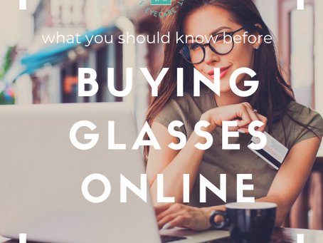 What you should know before buying glasses online