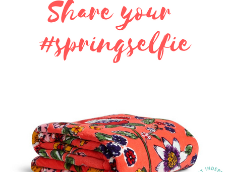 Share your #SpringSelfie 🌺
