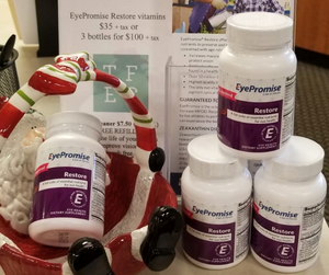 tallmadge family eye care eyepromise vitamins christmas stocking stuffers dr. dawson optometry