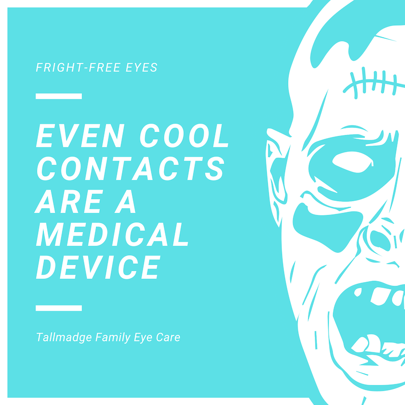 Halloween contact lenses costume