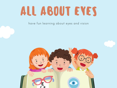 All About Your Eyes -- For Kids