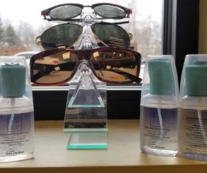 tallmadge family eye care eyepromise  sunglasses vitamins christmas stocking stuffers cleaning cloth dr. dawson optometry