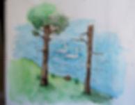 illustration, peinture, aquarell, gouache, a la main, authentique, créatin, créatif, graphiste, rouen, freelance, graphisme, infographiste, yvetot, le havre, normandie, france, usa , livre pour enfants, édition, mise en page, création de couverture, paysage, imaginatif, création, original, pas cher