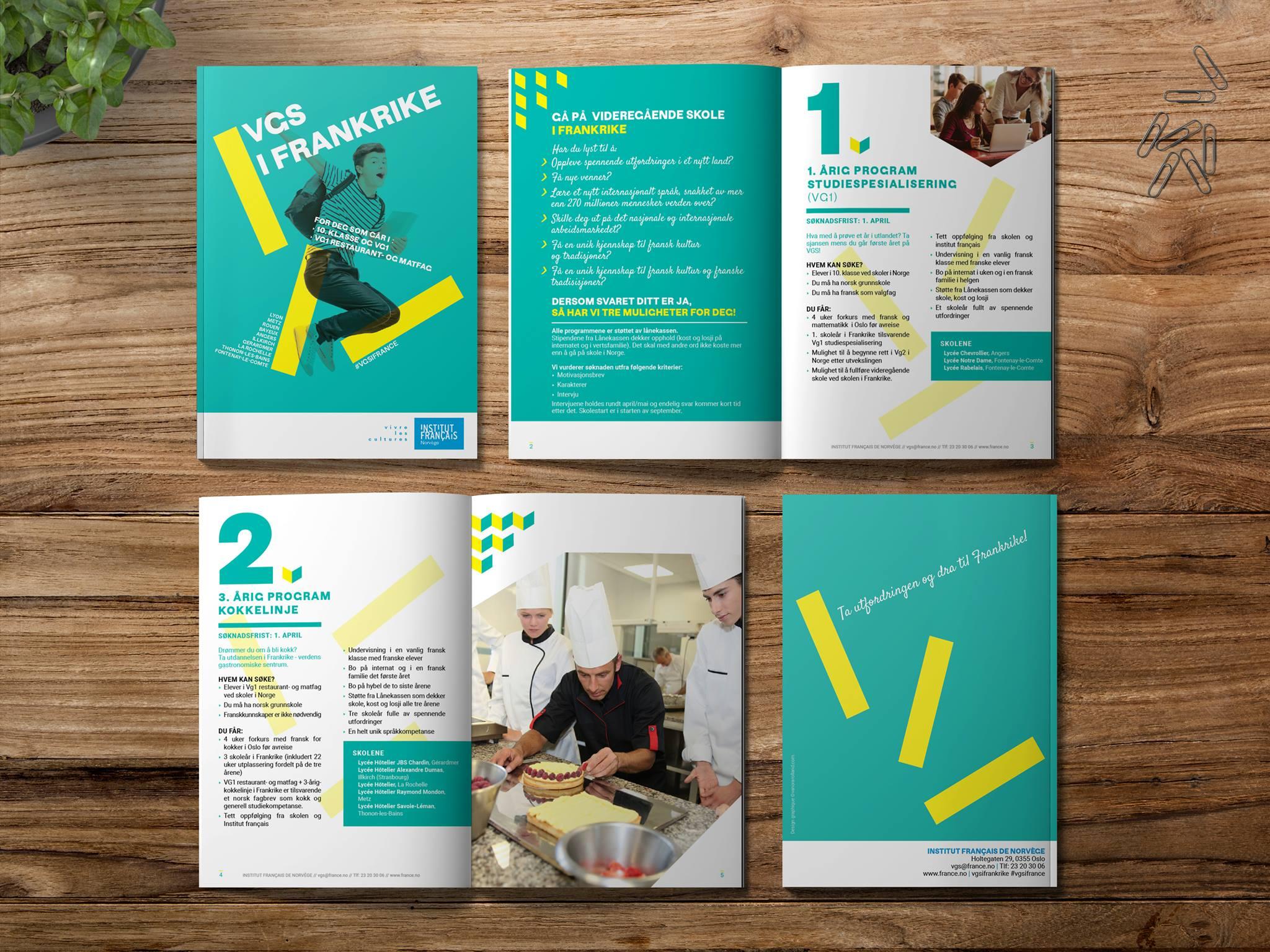 Brochure institut francais d'oslo
