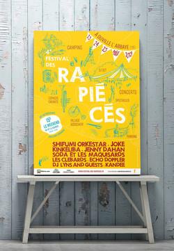 affiche festival des rapiécés