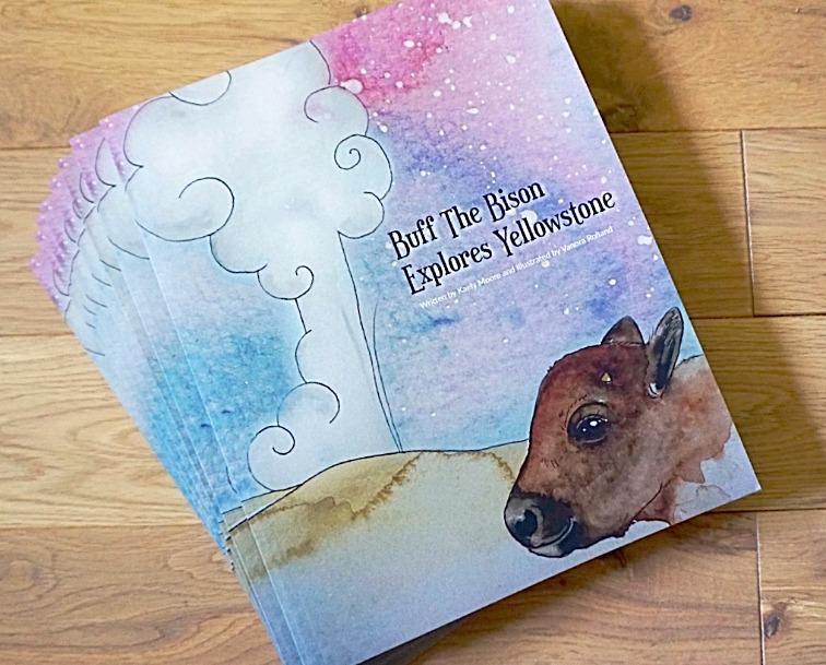 Publication livre pour enfants Buff