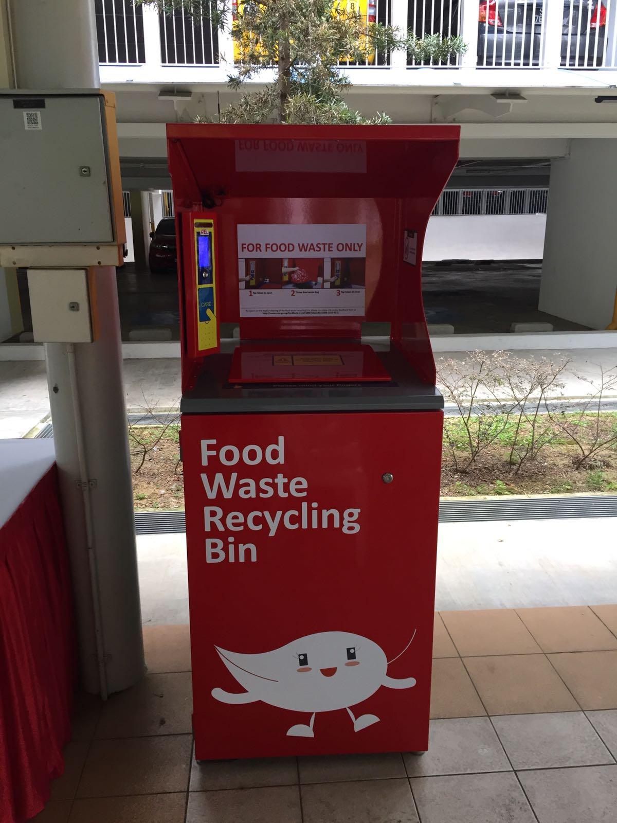 RFID Food Waste Bin
