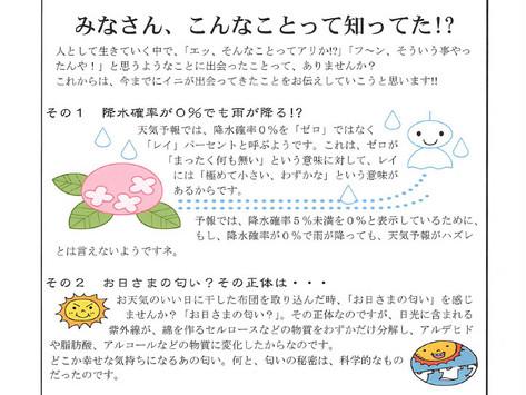 シェイク通信第3号発行!!