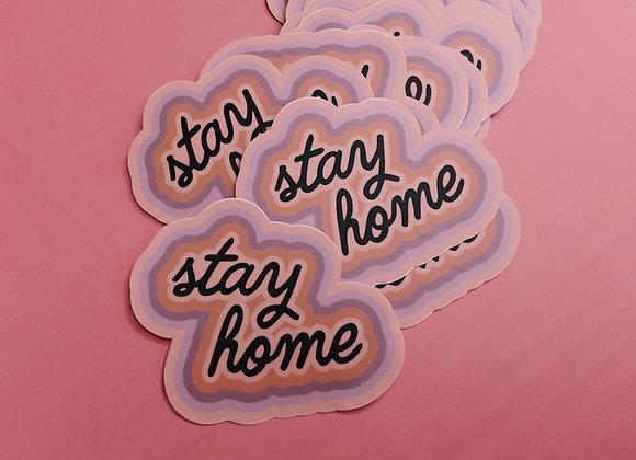 Stay Home v2 Sticker
