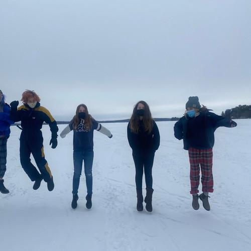 On a Frozen Unity Pond: Winter 2021