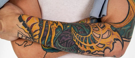 Tattooed Arms