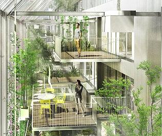 Avecpluspaysage logement for Jardin niel