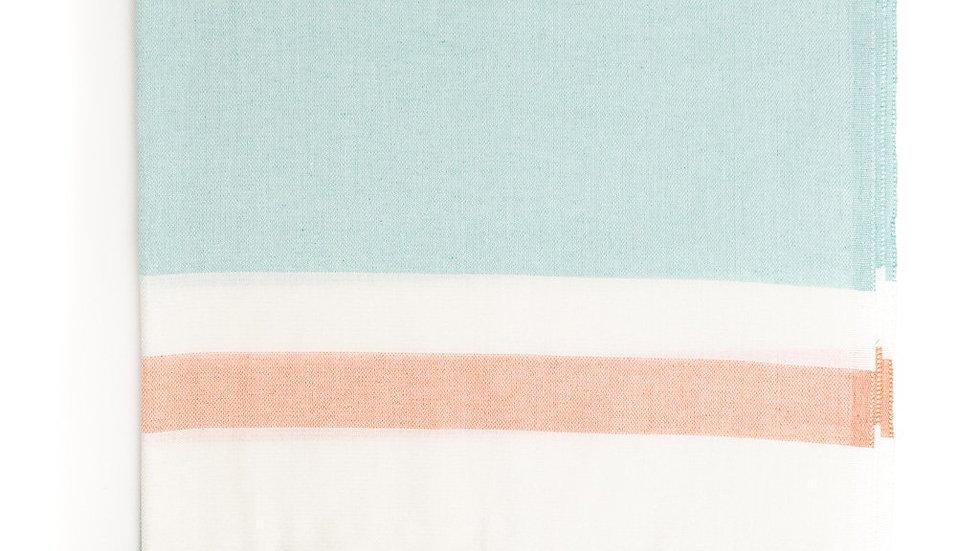 Three Color Peshtemal Pure Turkish Cotton Beach Towel