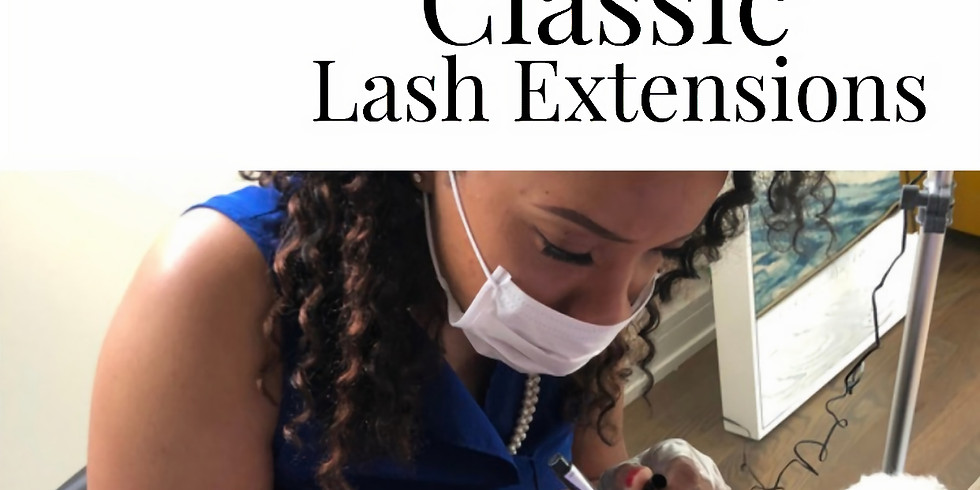 2 day Live Online Classic Eyelash Extension Training and Certification
