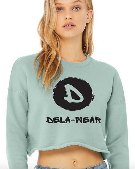 Ladies Dela-Wear Cropped Crewneck