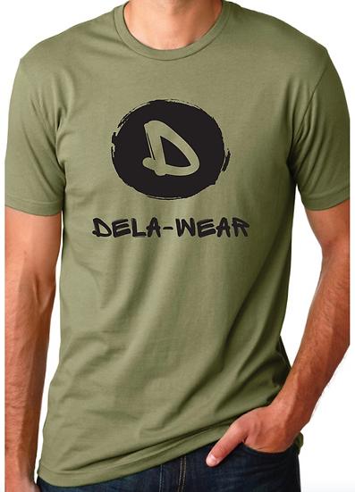 Dela-Wear Olive Unisex T-shirt