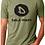 Thumbnail: Dela-Wear Olive Unisex T-shirt