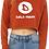 Thumbnail: Ladies Dela-Wear Cropped Crewneck