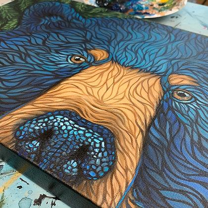 Wild BlueBeary Eyes
