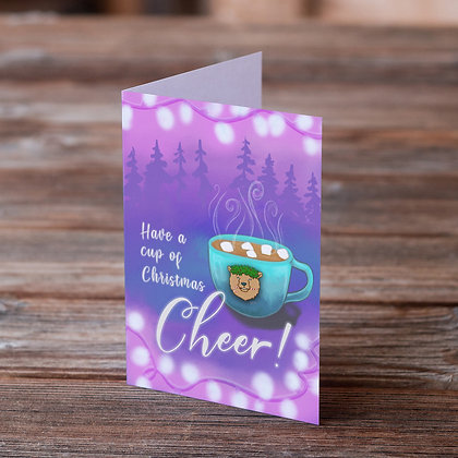 Cup Of Christmas Cheer Greeting Card
