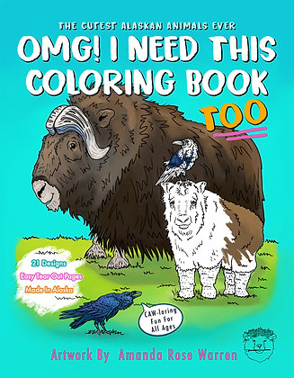 OMG! I Need This Coloring Book Too (#2)