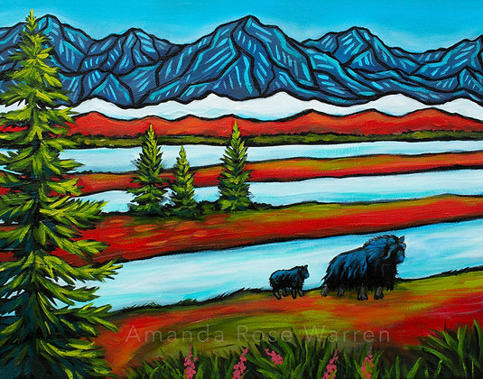 Our Great Land, Musk Ox