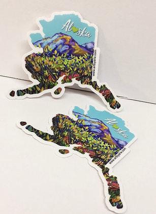 Mini Stickers 2-pack Alaska Blue Berry Bush