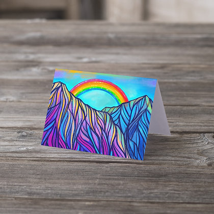Rainbow Range Greeting Card