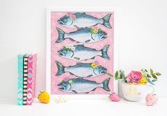 Salmon Squad Goals