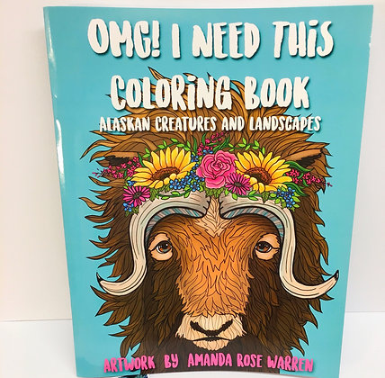 OMG! I NEED THIS COLORING BOOK