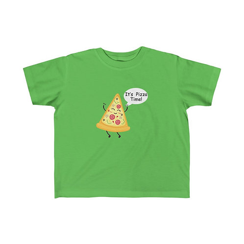 It's Pizza Time - Other Colors of Kid's Fine Jersey Tee