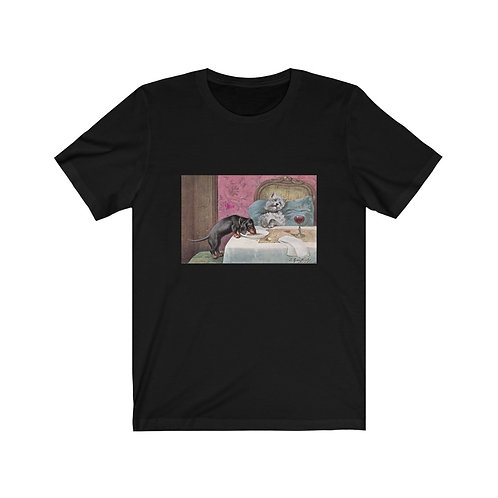 Sleeping Dog Loses the Chow - Unisex Jersey Short Sleeve Tee