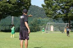 上矢部FC夏の愛川合宿