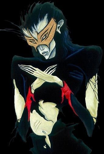 PRINT: XV Asmodeus Character From The Alchemist Tarot
