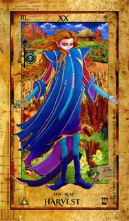 Alchemist Tarot Revealed - XX Harvest
