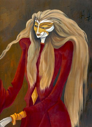 PRINT: XVII The Star Character From The Alchemist Tarot