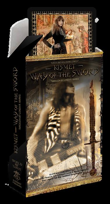 Kismet, Way Of The Sword Tarot Complete Kit