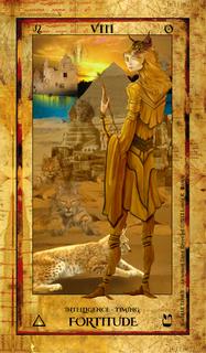 Alchemist Tarot Revealed - VIII Strength