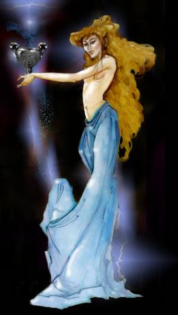 Fairy From The Alchemist Tarot Intro Card