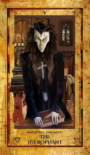 Alchemist Tarot Revealed - V Hierophant