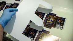 Alchemist Tarot Boxes Being Cut