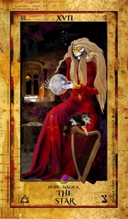Alchemist Tarot Revealed - XVII Star