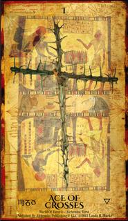 Alchemist Tarot Revealed - Ace Cross